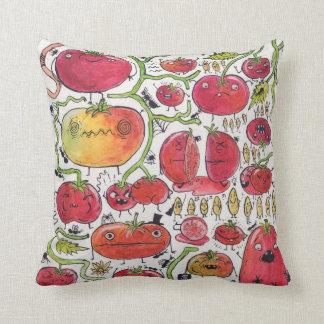 Tomatoes! Throw Pillow