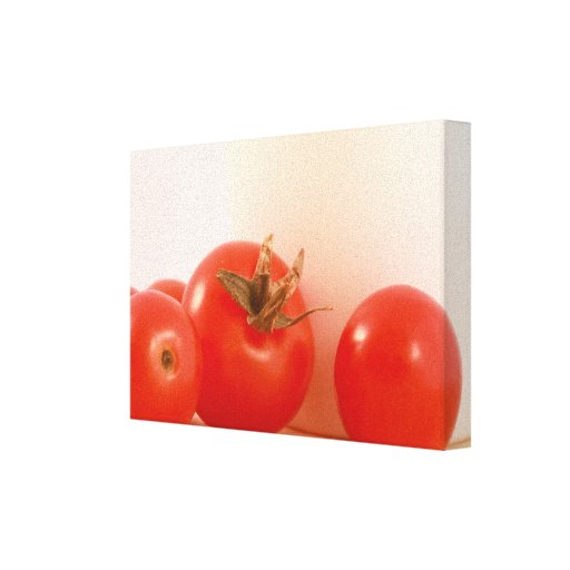 Tomatoes Wrapped Canvas Canvas Print