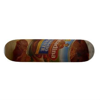 Tomatos Paste Cans Skate Deck