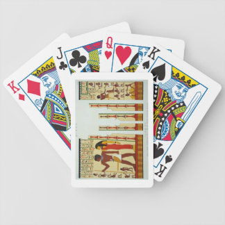 Tomb 24, Sepulchral Chamber No. 2, from Gizeh, Vol Bicycle Playing Cards
