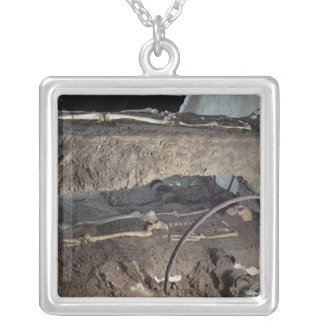 Tomb of a Gaulish chief Silver Plated Necklace
