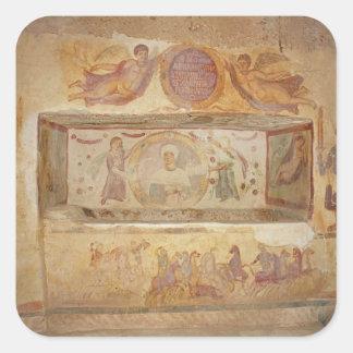 Tomb of Aelia Arisuth Square Sticker
