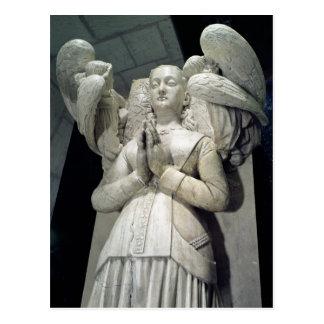 Tomb of Agnes Sorel  1450-59 Postcard