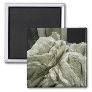 Tomb of Catherine de Medici  and Henri II 2 Inch Square Magnet