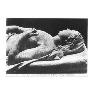 Tomb of Catherine de Medici  and Henri II Canvas Print