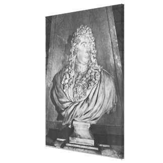 Tomb of Charles Le Brun and his wife Canvas Print
