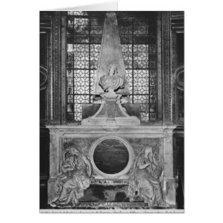 Tomb of Charles Le Brun and his wife Card