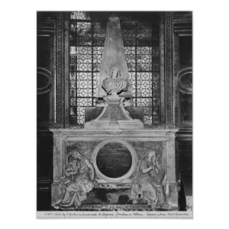 Tomb of Charles Le Brun and his wife Poster