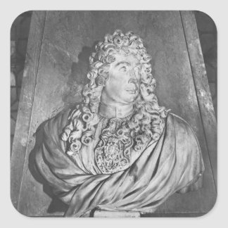 Tomb of Charles Le Brun and his wife Square Sticker