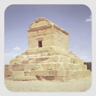 Tomb of Cyrus the Great Square Sticker