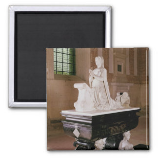 Tomb of Diane de Poitiers 2 Inch Square Magnet