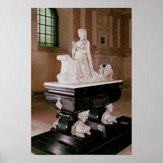 Tomb of Diane de Poitiers Poster
