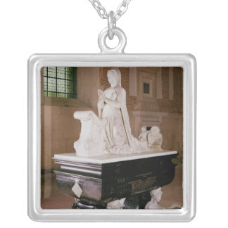 Tomb of Diane de Poitiers Silver Plated Necklace