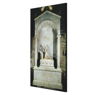 Tomb of Empress Josephine  1825 Canvas Print