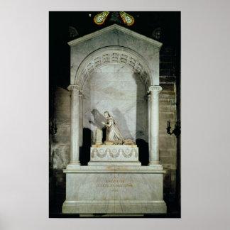 Tomb of Empress Josephine  1825 Poster