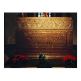 Tomb of Famous Civil War President. Postcard