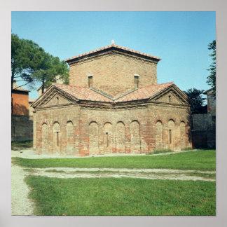 Tomb of Galla Placidia, c.450 Print