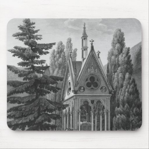 Tomb of Heloise and Abelard Mouse Pad