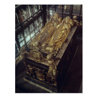 Tomb of Henry VII  and his Wife Postcards