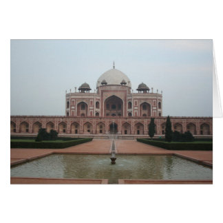 Tomb of Humayun Delhi India Stationery Note Card