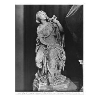 Tomb of Jean-Baptiste Colbert de Torcy Postcard