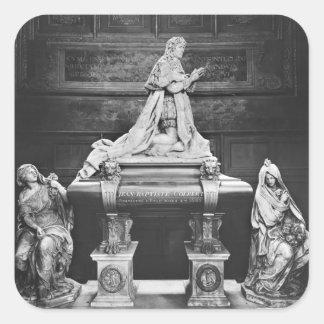 Tomb of Jean-Baptiste Colbert de Torcy Square Sticker