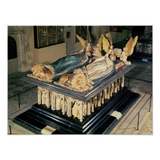 Tomb of John the Fearless  and Margaret of Poster
