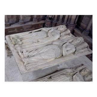 Tomb of Louis de France Postcard