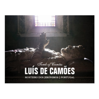 Tomb of Luis de Camoes in the Jeronimos Monastery Postcard