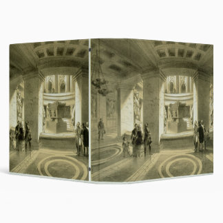Tomb of Napoleon (1769-1821) at Invalides, from 'P Vinyl Binder