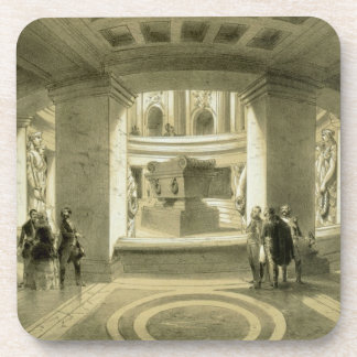 Tomb of Napoleon 1769-1821 at Invalides from P Drink Coasters