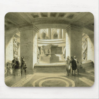 Tomb of Napoleon (1769-1821) at Invalides, from 'P Mouse Pad