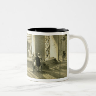 Tomb of Napoleon (1769-1821) at Invalides, from 'P Two-Tone Coffee Mug