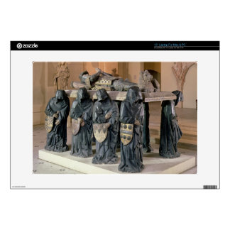 """Tomb of Philippe Pot (1428-94) from Citeaux Abbey, 15"""" Laptop Skins"""