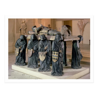 Tomb of Philippe Pot (1428-94) from Citeaux Abbey, Postcard