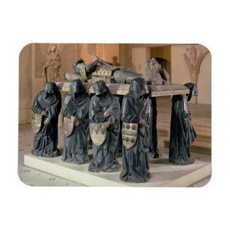 Tomb of Philippe Pot (1428-94) from Citeaux Abbey, Rectangular Photo Magnet