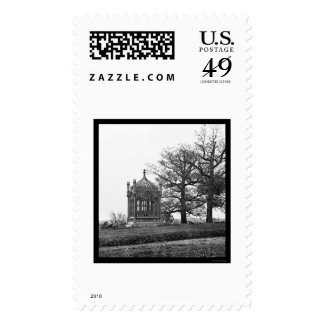 Tomb of President James Monroe in Richmond 1865 Postage Stamp