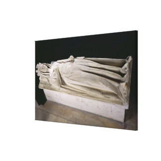 Tomb of Queen Berthe Canvas Print