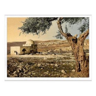 Tomb of Rachel, Jerusalem, Holy Land rare Photochr Postcard