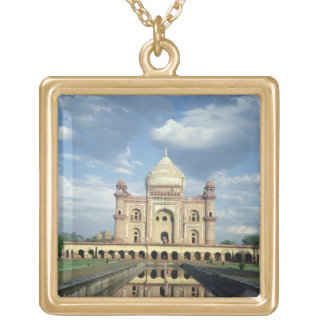 Tomb of Sardar Jang, Nawab of Oudh and Prime Minis Gold Plated Necklace