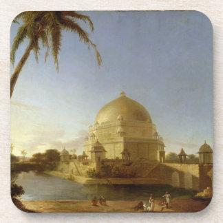 Tomb of Sher Shah Sasaram Bihar c 1790 oil on Coasters