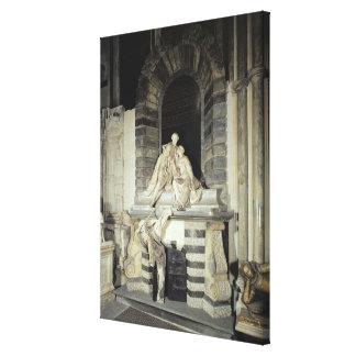 Tomb of Sir Joseph and Lady Elizabeth Canvas Print