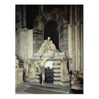 Tomb of Sir Joseph and Lady Elizabeth Postcard