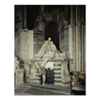 Tomb of Sir Joseph and Lady Elizabeth Poster