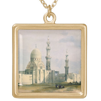 Tomb of Sultan Qansuh Abu Sa`id, 1499, in the East Gold Plated Necklace