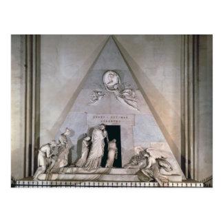 Tomb of the Archduchess Maria Christin Postcard