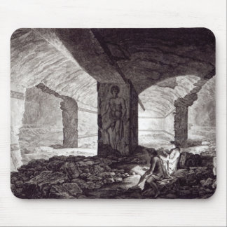 Tomb of the Cardinal at Tarquinia, c.1780 Mouse Pad