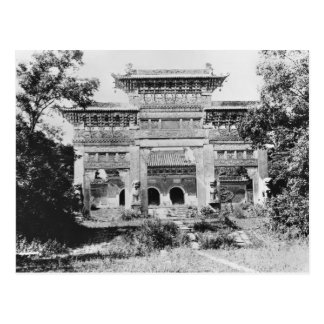 Tomb of the Emperor Qing Taizong Postcard