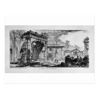 Tomb of the three brothers in Albano Curiatii Postcard