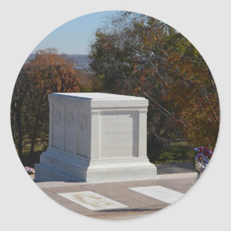 Tomb of the Unknown Soldier Arlington Classic Round Sticker